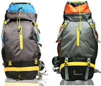 Yark Duratuff 60 Ltrs. Hiking / Trekking / Mountain / Climate Proof Rucksack  - 60 L Multi-Colour