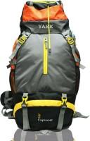 YARK Duratuff 60 Ltrs.Trekking Rucksack  - 60 L Black&Orange