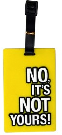 Tootpado Travel Bag No It'S Not Yours 1i047n Luggage Tag