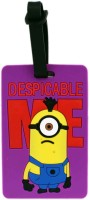 Tootpado Despicable Me Minion One Eye - Bag Travel Luggage Tag Purple