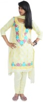 Inditouch Embroidered Churidar Suit