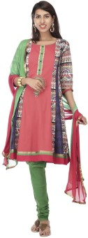Haute Curry By Shoppers Stop Printed Kurta & Churidar