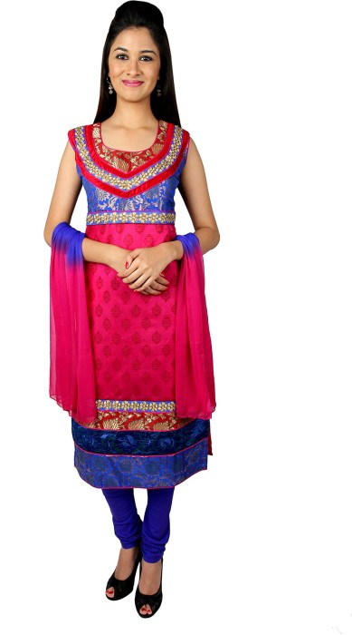 Mina Bazaar Printed Churidar Suit - SWDDTHJGQGJCW6PB