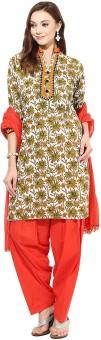 Jaipur Kurti Floral Print Salwar Kurta Duptta - SWDE8JJZQG2AGHXY