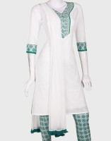 eStyle Printed Churidar Suit
