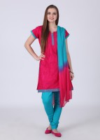 Huur Printed Churidar Suits