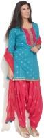 Anahi Printed Patiala Suit