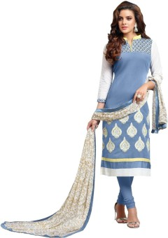 MeritoFashion Embroidered, Printed Kurta & Churidar Stitched