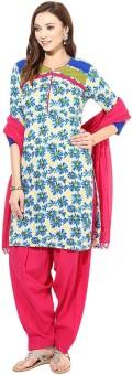 Jaipur Kurti Floral Print Salwar Kurta Duptta - SWDE8JJZFYHSFQZG