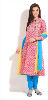 Rain & Rainbow Printed Churidar Suits - SWDE5GBG2NSHHJDU