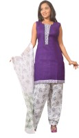 Azva Readymade Solid Salwar Suit