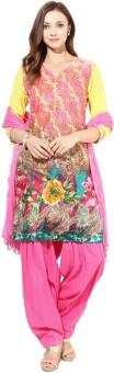 Jaipur Kurti Floral Print Salwar Kurta Duptta - SWDE8JMCYJHBZ7HB