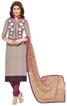 Dheera Collections Embroidered, Printed Kurta & Churidar