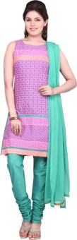 Haute Curry By Shoppers Stop Printed Churidar Suit