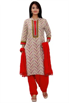 KA Printed Kurta & Churidar