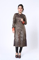 Ethnic Route Printed Churidar Suit - SWDDXFC4VUR5FHGN