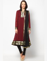 Magnetic Designs Solid Anarkali Suit