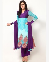 Magnetic Designs Printed Afghani Suit
