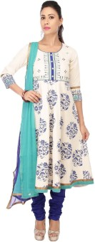 Kashish By Shoppers Stop Floral Print Kurta & Churidar