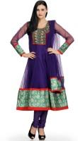 Aujjessa Printed Anarkali Suit