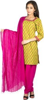 Jaipur Kurti Floral Print Salwar Suit - SWDE2ZHYQR93N6AQ