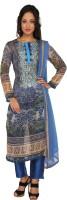 Salwar Studio Printed, Self Design Salwar Suit