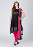 Anahi Embroidered Churidar Suits