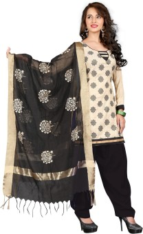 The Four Hundred Embroidered Kurti & Salwar - SWDEEJGUXJD9RZEF