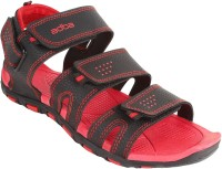Bersache Men Red Sandals Red