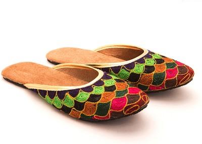 Myra Myra Multicolored Slip On Flats