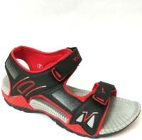 Wsl-life Men Black, Red Sandals Black, Red