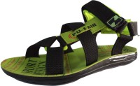 Pu Fair Men, Women Black Sports Sandals Black