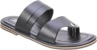Titas Men'S Black Casual Slippers Sandals