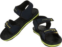 Earton Black-858 Sandals