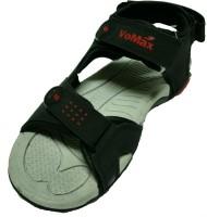 VoMax Men Black, Red Sandals Black, Red