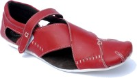 PFC Men Red Sandals Red