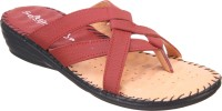Titas Womens Cherry Casual Sandals Leather Wedges