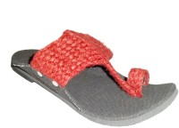 PAHNAWA Men Red Sandals Red