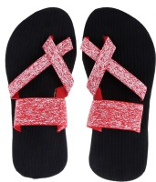 Tripssy Men Red Sandals Red