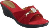 Shoe Bazar Women Maroon Wedges Maroon