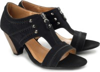 DONE BY NONE 30 Seconds To Mars Kitten Wedges: Sandal