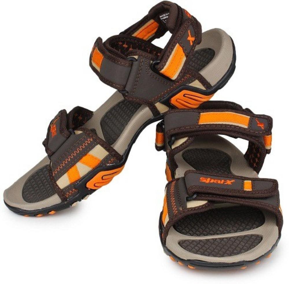 Sparx Men Beige Orange Brown Sports Sandals Beige Orange Brown