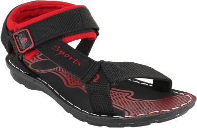 Oricum Black-826 Men Black, Red Sandals Black, Red