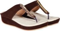 Sapatos Women Brown, Brown Wedges Brown, Brown