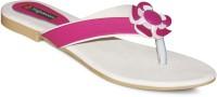 Sapatos Women White, Pink Flats White, Pink