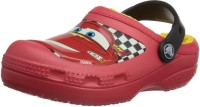 Crocs Boys Red Sandals Red