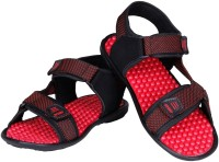 Knight Ace Men Red Sandals Red