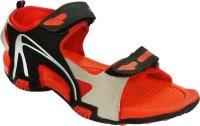 BrandTrendz Men Red Sports Sandals Red
