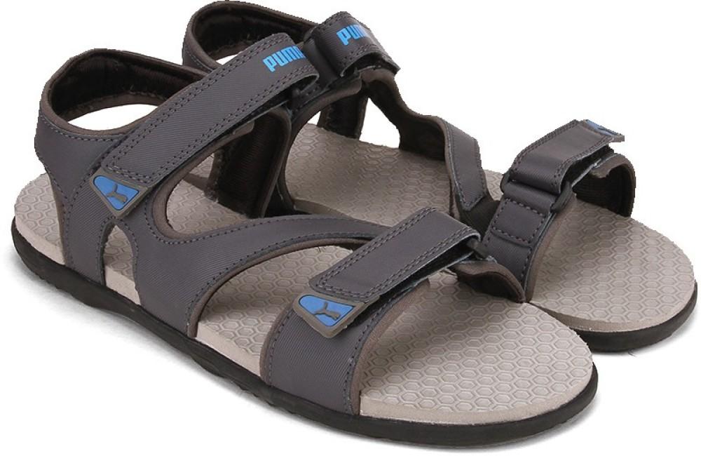 Puma Elego DP Men Grey Sports Sandals Grey