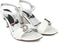 Max Fashion World Women White Heels White